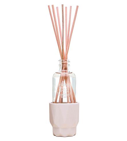 JOYA Prism Blush porcelain reed diffuser 2 oz