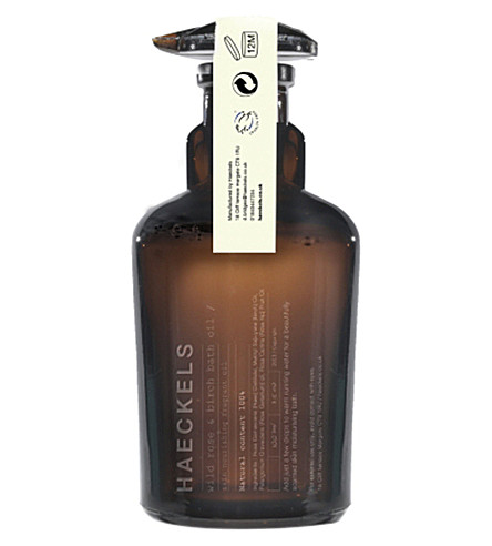 HAECKELS Rose Geranium bath oil 100ml