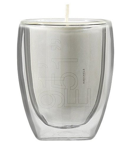 "HAECKELS GPS 19' 51""E elderflower candle 270g"