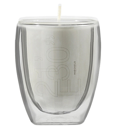"""HAECKELS GPS 21 '30""""E box fennel candle 270g"""