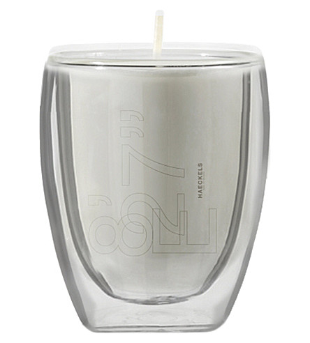 """HAECKELS GPS 8' 27""""E crab apple candle 270g"""