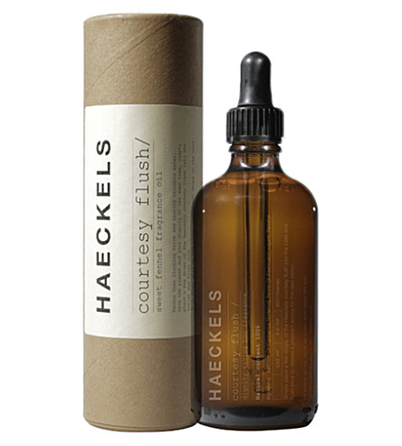 HAECKELS Courtesy Flush bathroom fragrance oil 100ml