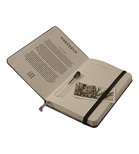 HAECKELS Perfumers A6 moleskin notebook