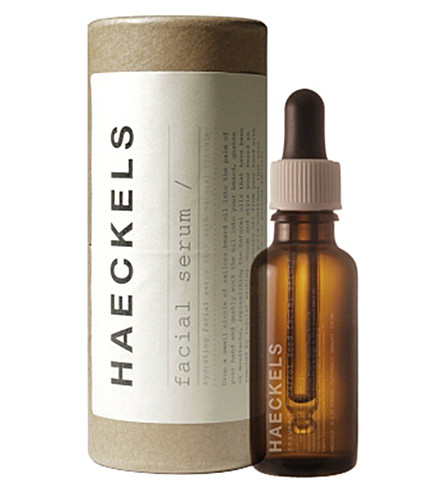 HAECKELS Seaweed and carrot seed face serum 30ml