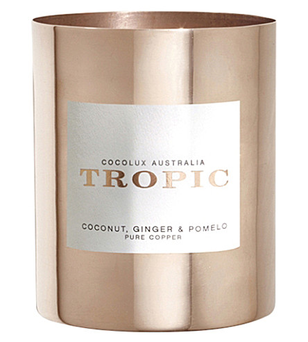 COCOLUX Tropic coconut, ginger and pomelo candle 350g