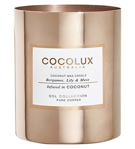 COCOLUX Bergamot lily and moss 350g
