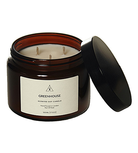EARL OF EAST Greenhouse soy wax candle 500ml