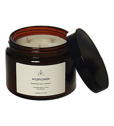 EARL OF EAST Wildflower soy wax candle 500ml