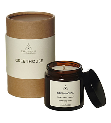 EARL OF EAST Greenhouse soy wax candle 120ml