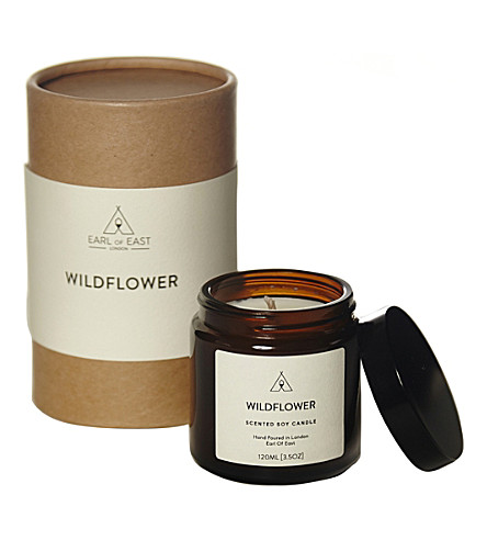 EARL OF EAST Wildflower soy wax candle 120ml