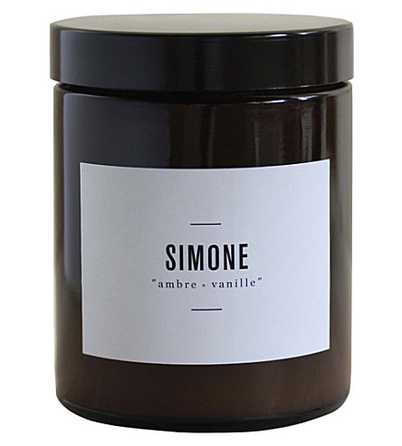 MARIE JEANNE Simone ambre-vanille scented candle 140g