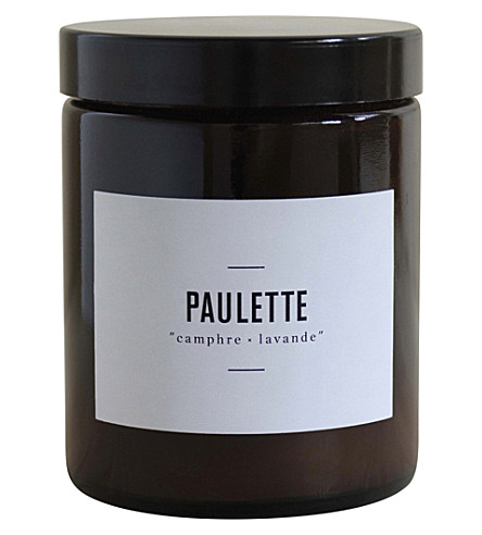 MARIE JEANNE Paulette camphre-lavande scented candle 140g