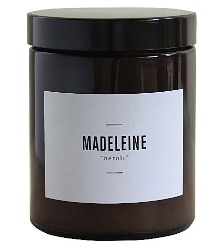 MARIE JEANNE Madeleine neroli scented candle 140g