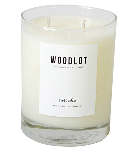 WOODLOT Cascadia coconut wax candle 380g