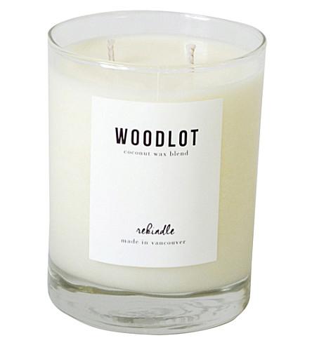 WOODLOT Rekindle coconut wax candle 380g