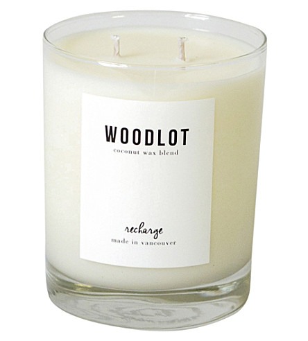 WOODLOT Recharge coconut wax candle 380g