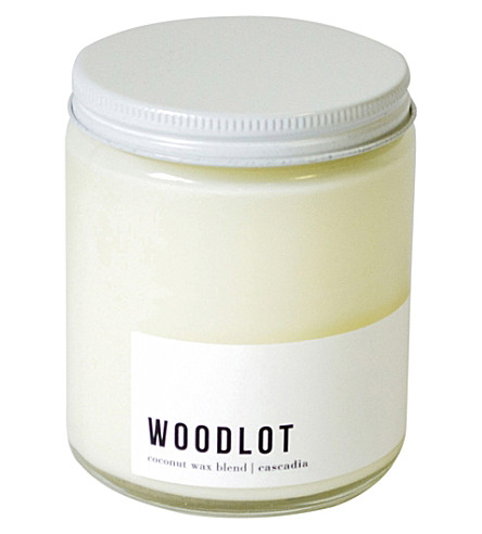 WOODLOT Cascadia coconut wax jar candle 225g