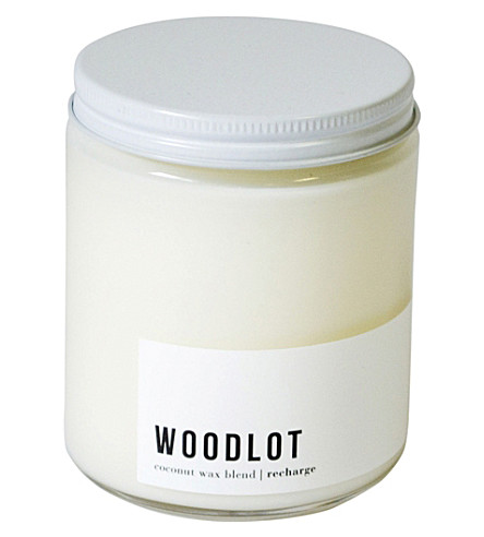 WOODLOT Recharge coconut wax jar candle 225g