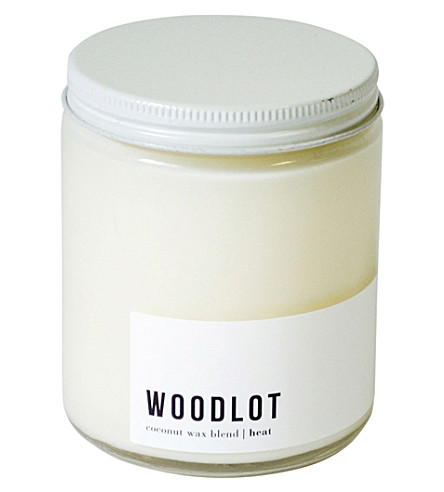 WOODLOT Heat coconut wax jar candle 225g
