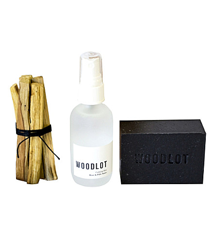 WOODLOT Palo Santo package gift set