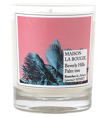 MAISON LA BOUGIE Beverly hills scented candle