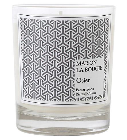 MAISON LA BOUGIE Osier scented candle