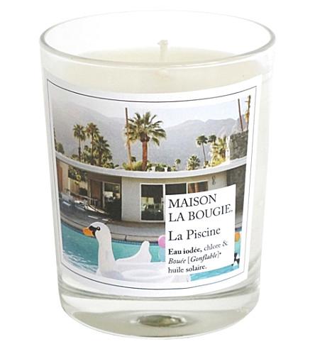 Maison la bougie la piscine scented candle - La maison de la bougie ...