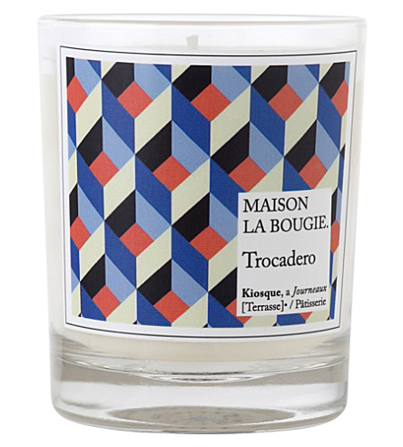 Maison la bougie paris trocadero scented candle - La maison de la bougie ...