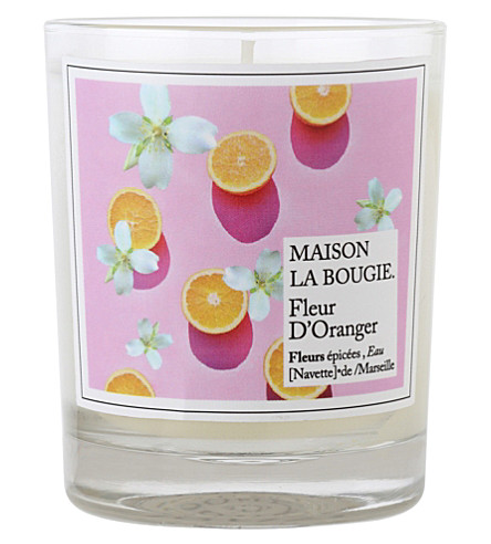 MAISON LA BOUGIE Orange blossom scented candle
