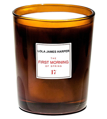 LOLA JAMES HARPER 17 the first morning of spring candle 190g