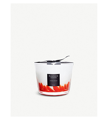BAOBAB Feathers Masai scented candle 500g