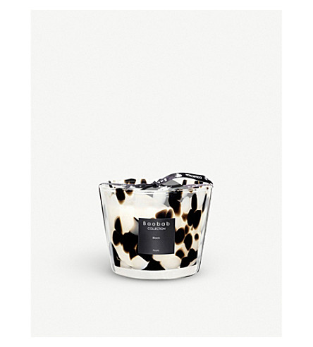 BAOBAB Black Pearls Max 10 scented candle 500g