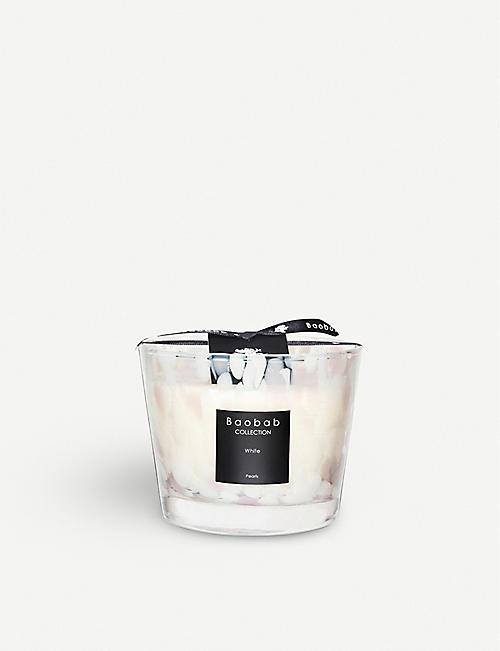 BAOBAB 白珍珠最大 10 香味蜡烛 500g