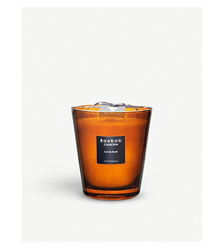 BAOBAB Cuire de Russie Max 16 scented candle 1kg