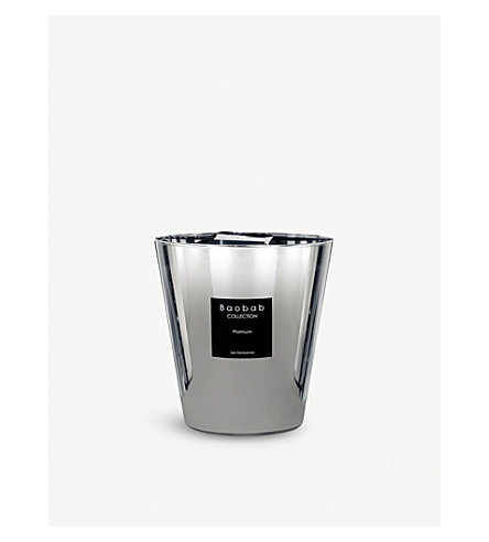 BAOBAB Les Exclusives Platinum scented candle 1kg