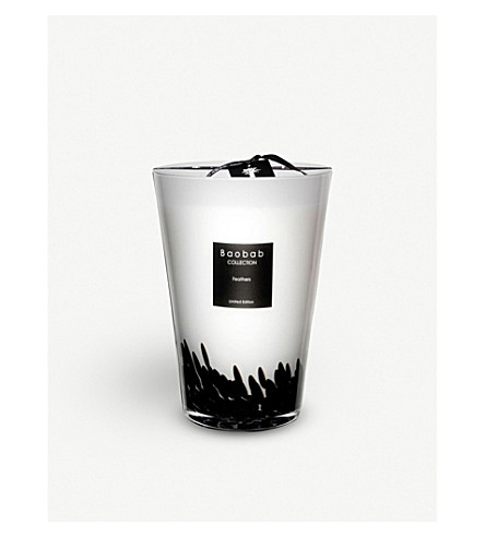 BAOBAB Feathers scented candle 3kg