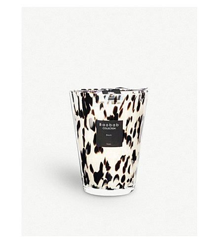BAOBAB Black Pearl scented candle 3kg