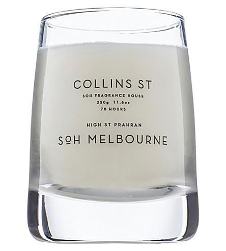 SOH MELBOURNE 柯林斯 st 玻璃香薰蜡烛