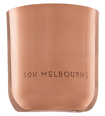SOH MELBOURNE Fig Tree copper scented candle