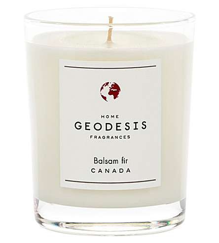 GEODISIS Balsam fir scented candle