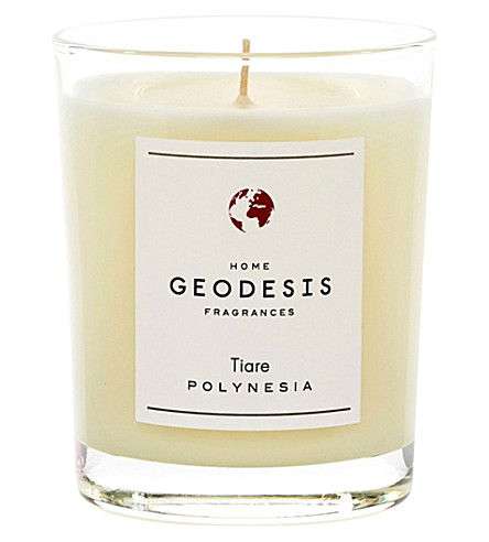 GEODISIS Tiare scented candle