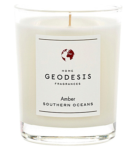 GEODISIS Amber scented candle