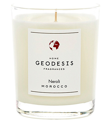 GEODISIS Neroli scented candle