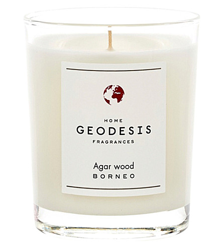 GEODISIS Agar wood scented candle