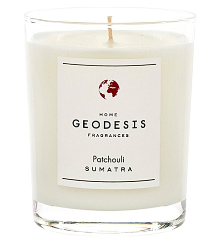 GEODISIS Patchouli scented candle