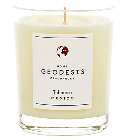 GEODISIS Tuberose scented candle