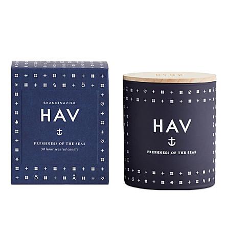 SKANDINAVISK HAV scented candle 190g