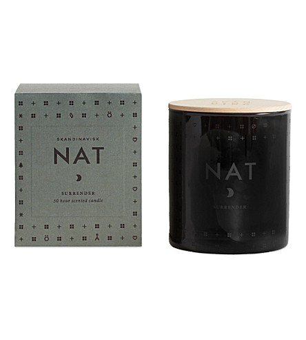 SKANDINAVISK Nat night scented candle