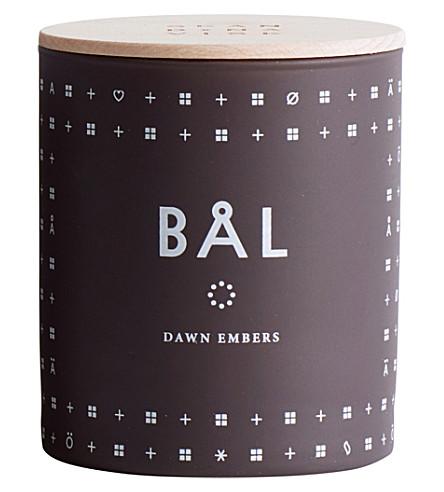SKANDINAVISK Bal campfire scented candle 190g