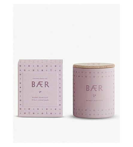 SKANDINAVISK Baer berry scented candle 190g